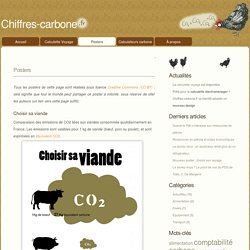 Chiffres-carbone » Posters