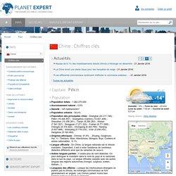 Chiffres clés de la Chine
