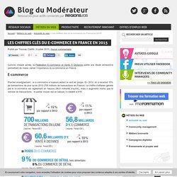 Les chiffres clés du e-commerce en France en 2015