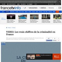 Les vrais chiffres de la criminalité en France
