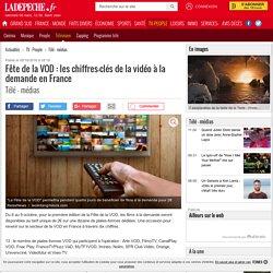 Fête de la VOD : les chiffres-clés de la vidéo à la demande en France - 05/10/2016 - ladepeche.fr