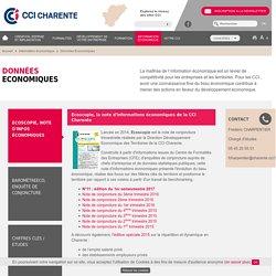 Chiffres Clés de l'Economie en Charente