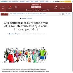 Dix chiffres clés sur l'économie et la société française que vous ignorez peut-être