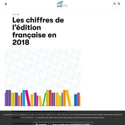 Les chiffres de l'édition française en 2018