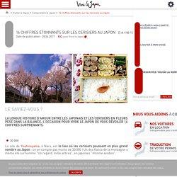 16 chiffres étonnants sur les cerisiers au Japon