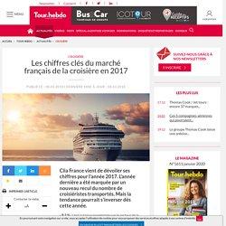 Les chiffres clés du marché français de la croisière en 2017