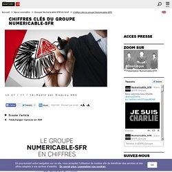 Chiffres clés du groupe Numericable-SFR