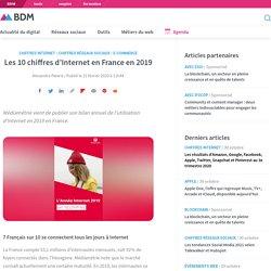 Les 10 chiffres d'Internet en France en 2019