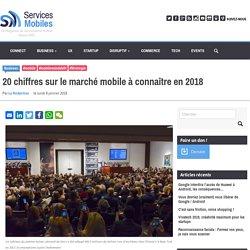 20 chiffres sur le marché mobile à connaître en 2018