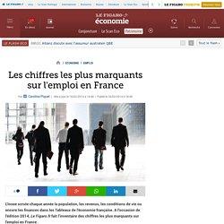 Les chiffres les plus marquants sur l'emploi en France