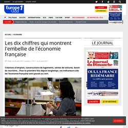 Les dix chiffres qui montrent l'embellie de l'économie française