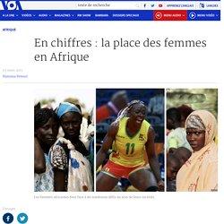 En chiffres : la place des femmes en Afrique