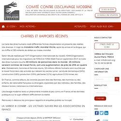 Chiffres et rapports récents - Comité contre l'esclavage moderne