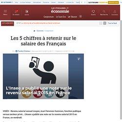 Les 5 chiffres à retenir sur le salaire des Français