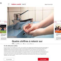Quatre chiffres à retenir sur l'hygiène des mains - Edition du soir Ouest France - 16/04/2019