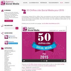 50 Chiffres clés Social Media pour 2015