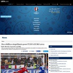 Des chiffres stupéfiants pour l'UEFA EURO 2012 - UEFA EURO