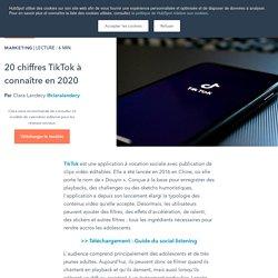 20 chiffres TikTok à connaître en 2020