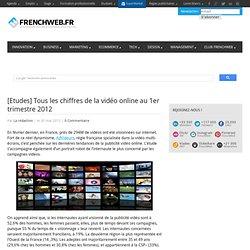 [Etudes] Tous les chiffres de la vidéo online au 1er trimestre 2012