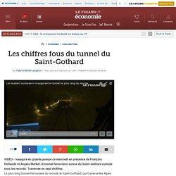 Les chiffres fous du tunnel du Saint-Gothard