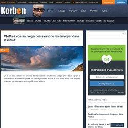 Chiffrez vos sauvegardes avant de les envoyer dans le cloud - Korben