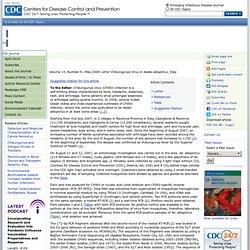 CDC EID - MAI 2008 - Chikungunya Virus in Aedes albopictus, Italy