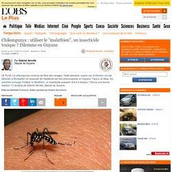 """Chikungunya : utiliser le """"malathion"""", un insecticide toxique ? Dilemme en Guyane"""