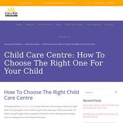 Childcare Centers Near Me