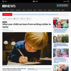 What your child can learn from writing a letter to Santa