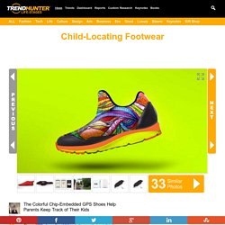 Child-Locating Footwear : GPS shoes