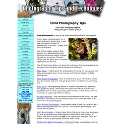 Child Photography Tips