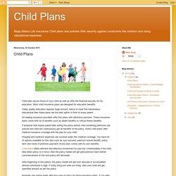 Child Plans: Child Plans
