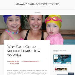 Learn How to Swim with Experts