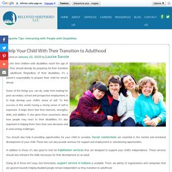 Help Your Child With Their Transition to Adulthood