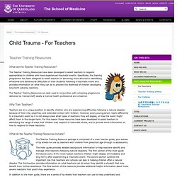 Child Trauma - For Teachers