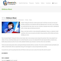 Childcare Menai - Chantel's kindergarten