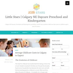 Average Childcare Costs in Calgary to Expect