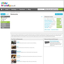 childfriendly.co.uk - family restaurants