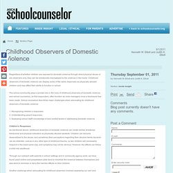 American School Counselor Association (ASCA)