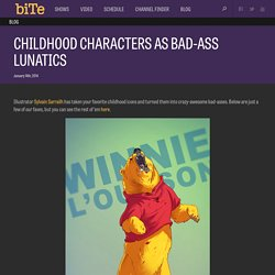 Childhood Characters As Bad-Asses