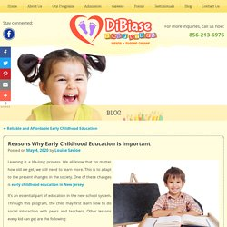 Reasons Why Early Childhood Education Is Important