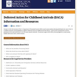 Action for DREAMers info