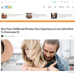 Family Dynamics In Childhood Cause Most Romantic Relationship Problems