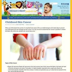 Childhood Skin Cancer