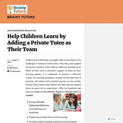 Important tips about Math's Tutor London