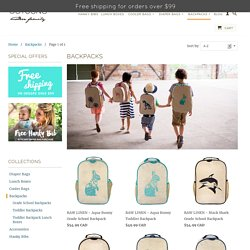 Children's School Backpacks by SoYoung