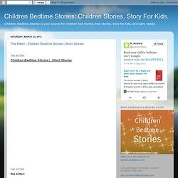 Children Bedtime Stories