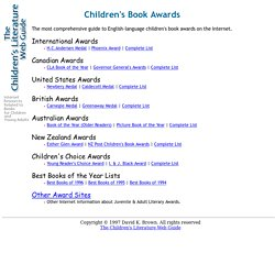 Children's Book Awards