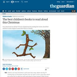 The best children's books to read aloud this Christmas