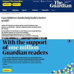 Can children's books help build a better world?